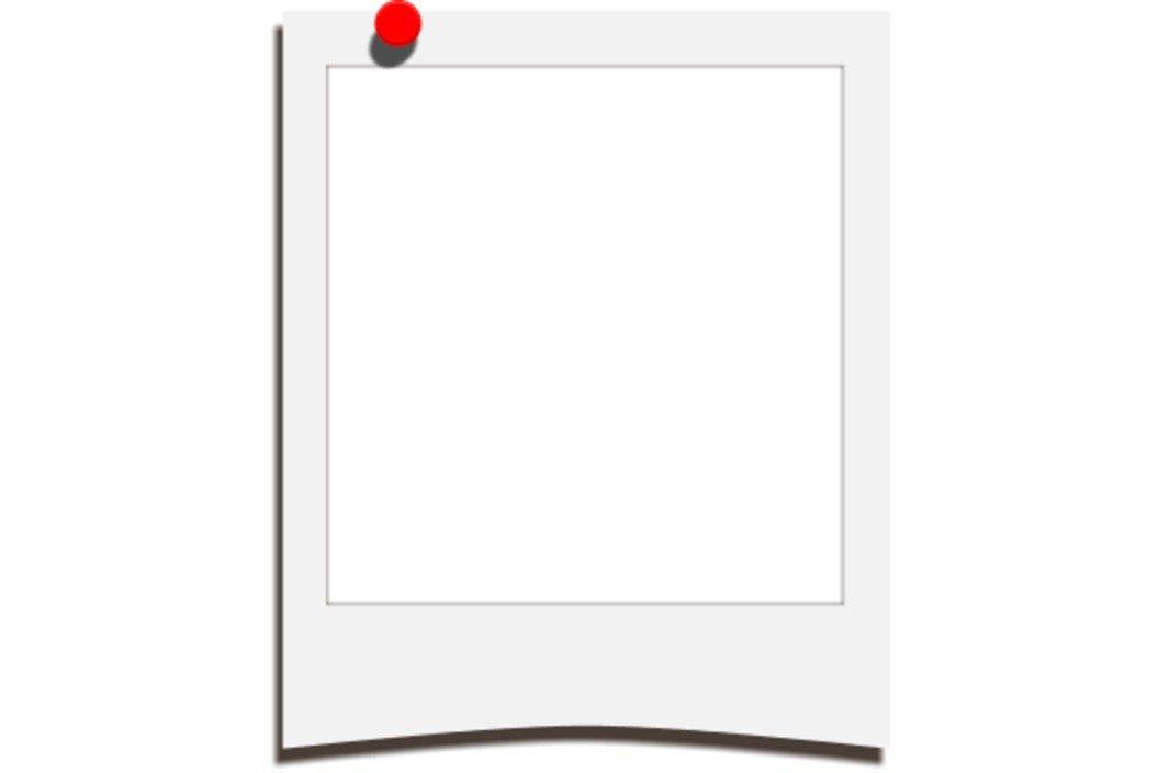 Polaroid Template free image