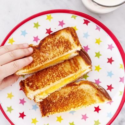 Para Peques: Sandwich de queso fundido y más