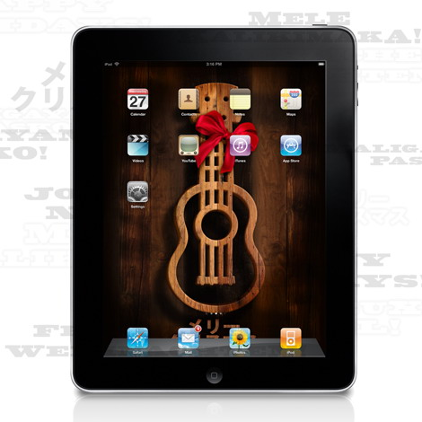 Old Wallpaper Iphone X Ukulele Old West Holiday Ipad Amp Iphone Wallpapers