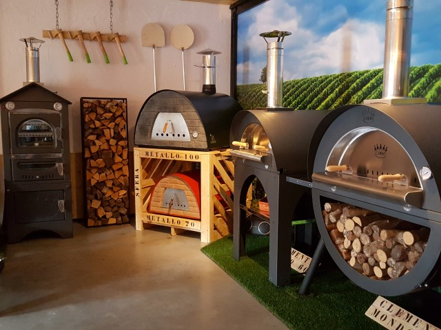 Wekker Hout Clementi Cucina Houtoven - Robuust Wonen - Pizzaovens