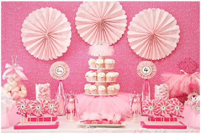 Every Little Detail Event Planning and Design Pink Ballerina - birthday party design