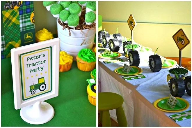 John Deere Tractor Party Pizzazzerie