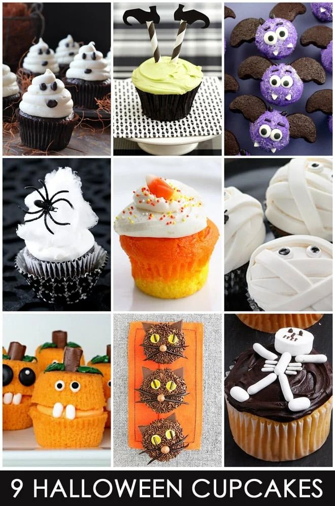 Cute and easy halloween cupcake ideas just in time for halloween