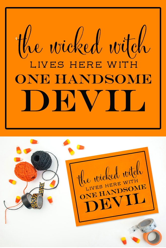 The Wicked Witch Lives Here Printable Free! Pizzazzerie