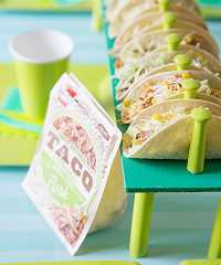 DIY Taco Holder and Free TACO PARTY Sign to Download