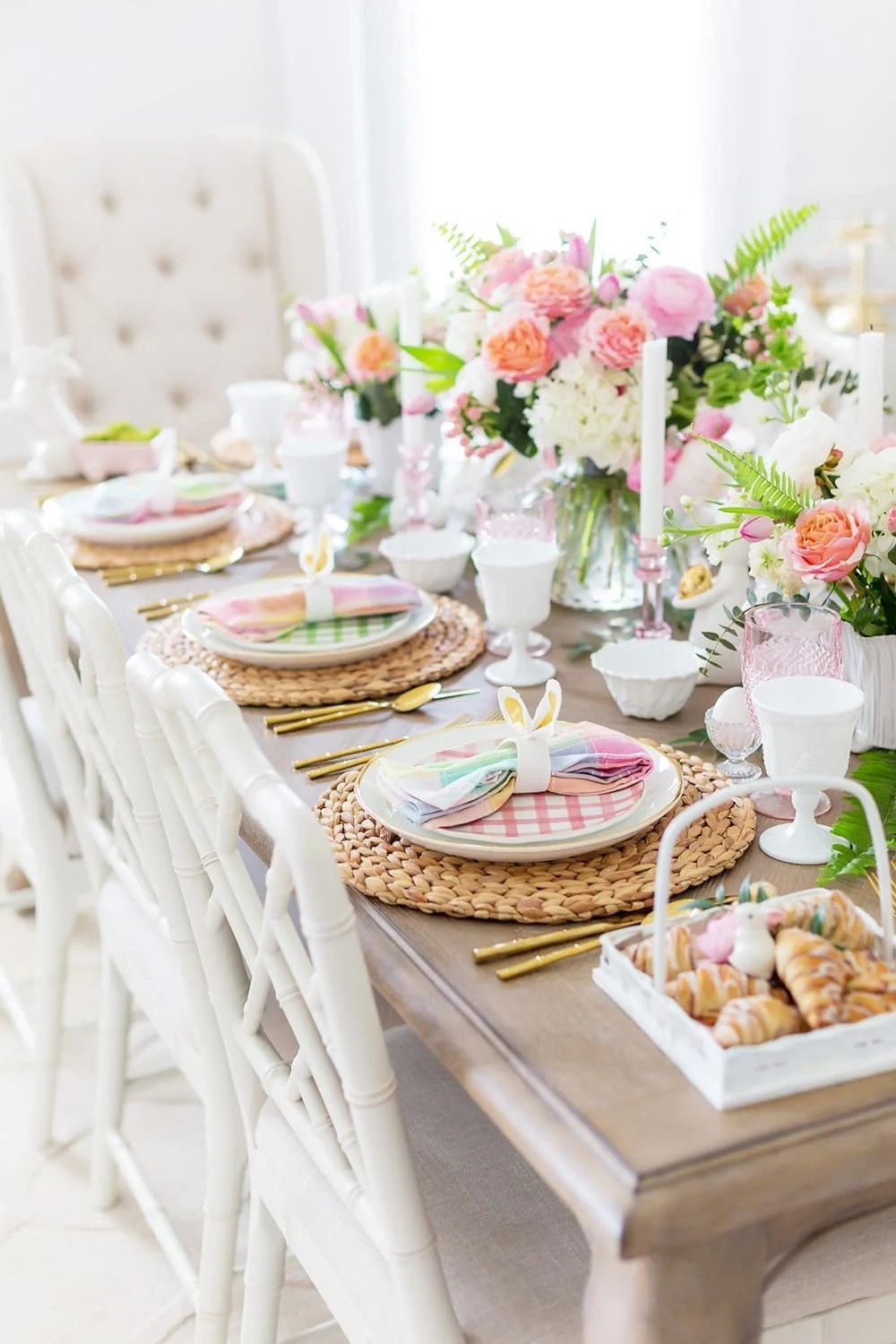 Https Pizzazzerie Com Featured Colorful Easter Table Decor