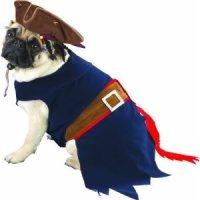 Captain Jack Sparrow Dog Costume