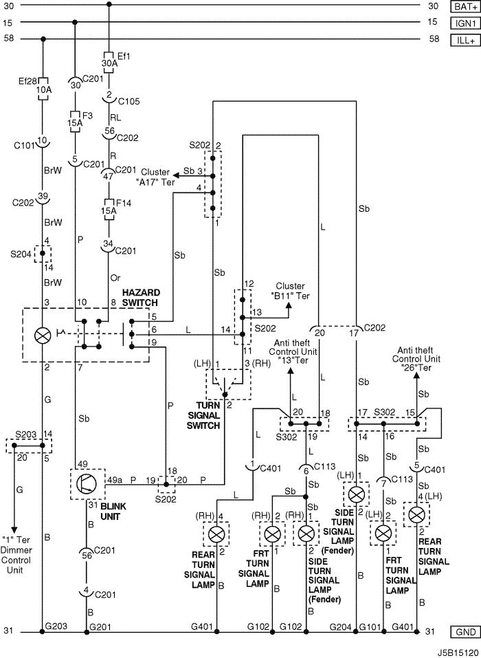 daewoo matiz central locking wiring diagram