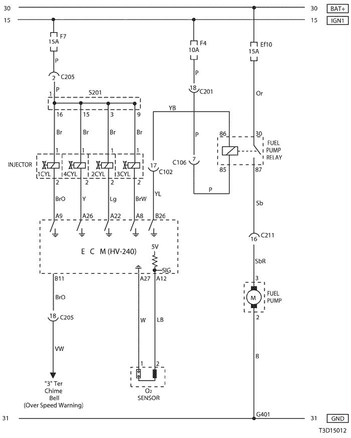 wiring diagram chevrolet kalos
