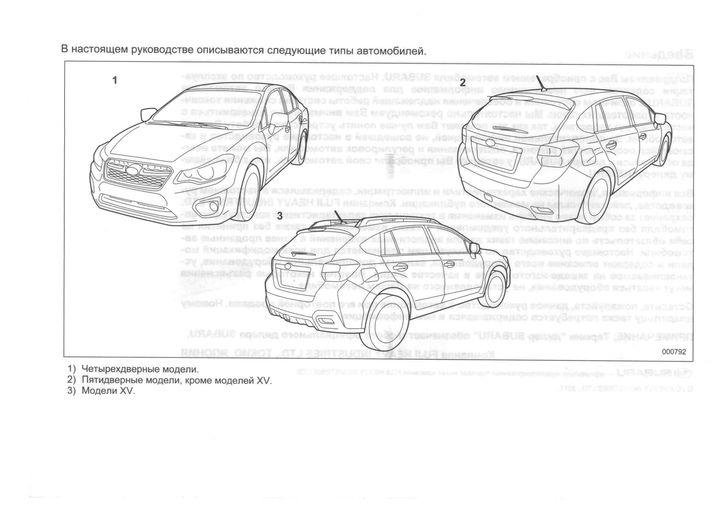 Schaltplang 2012 subaru xv