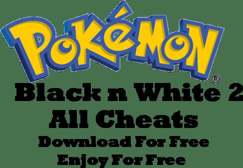 Pokemon Black And White Cheats