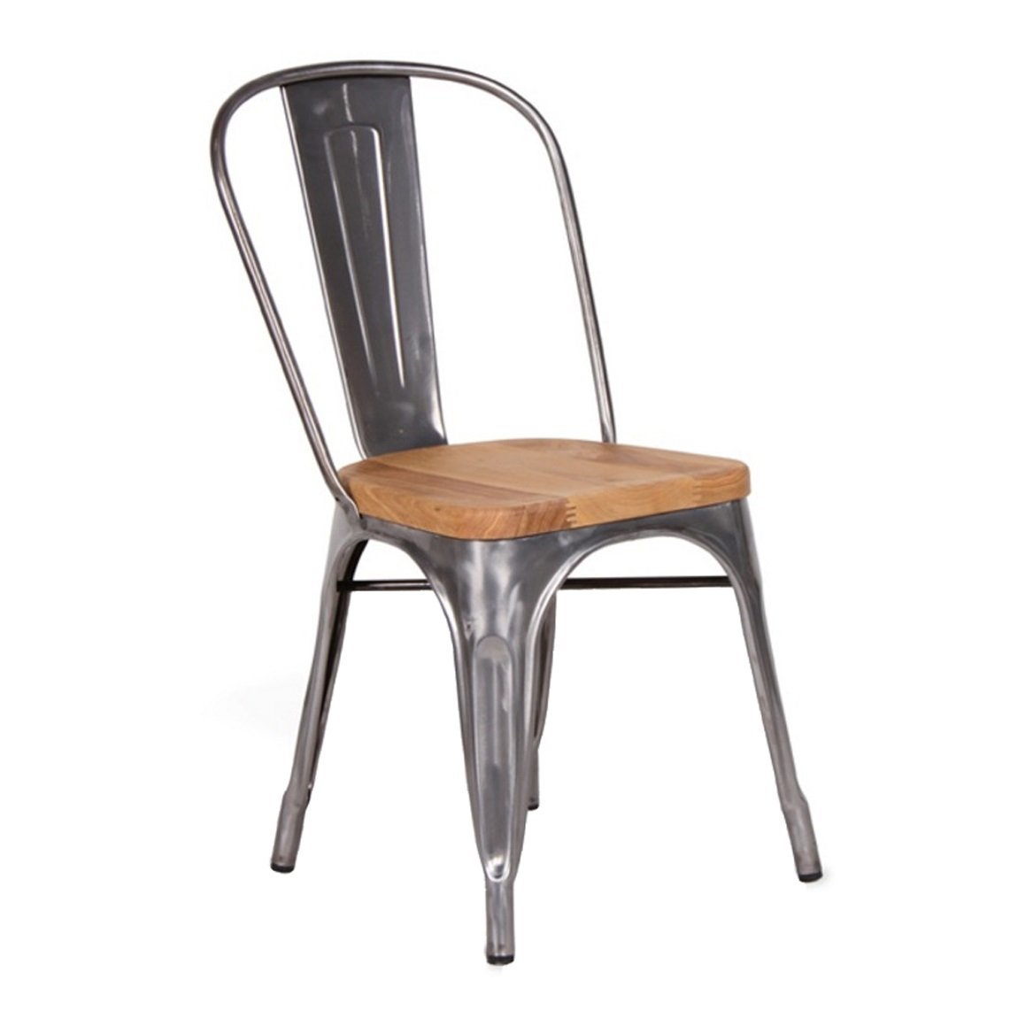 Chair Wooden Replica Xavier Pauchard Wooden Seat Tolix Chair