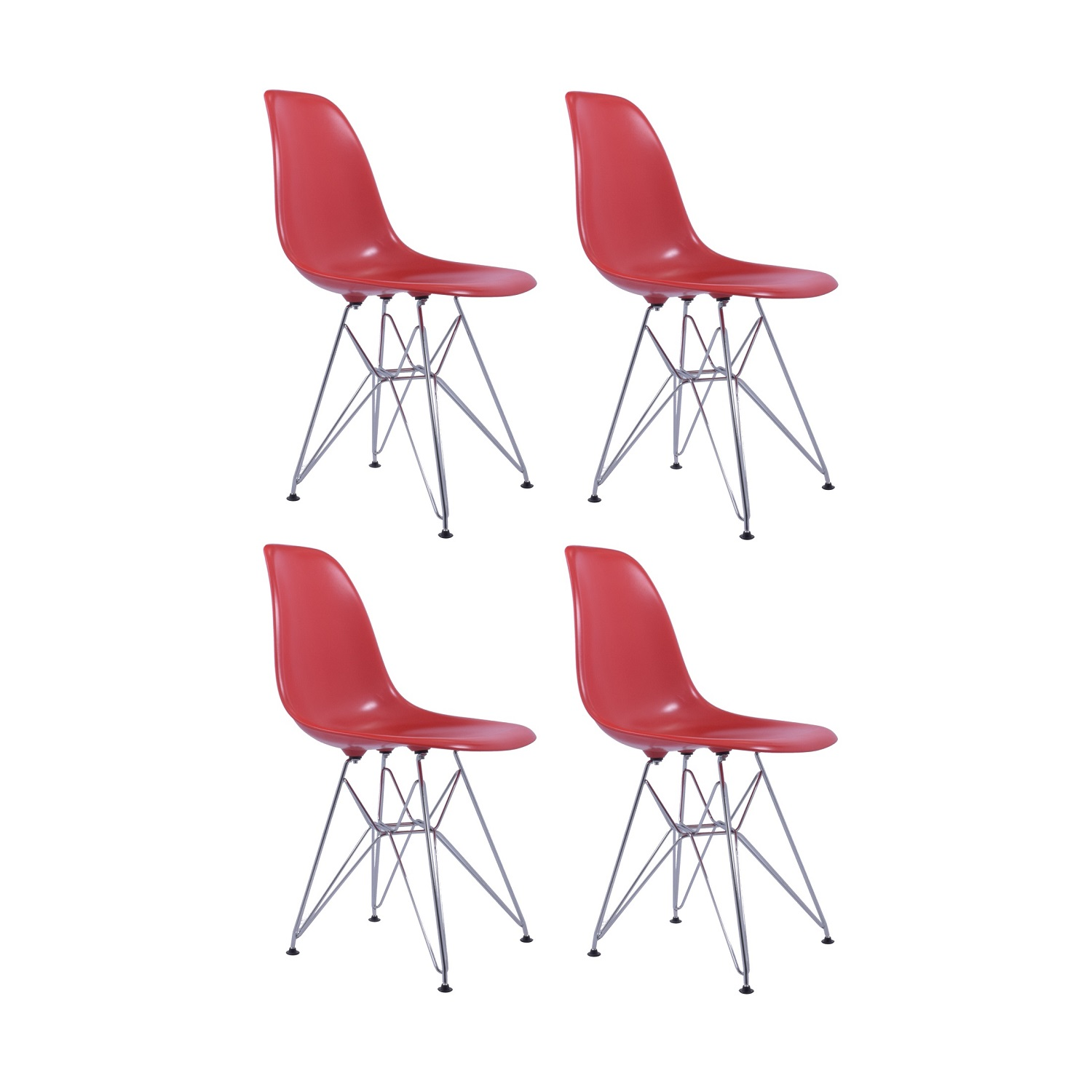 Eames Replica Replica Eames Dsr Dining Chair Set Of 4