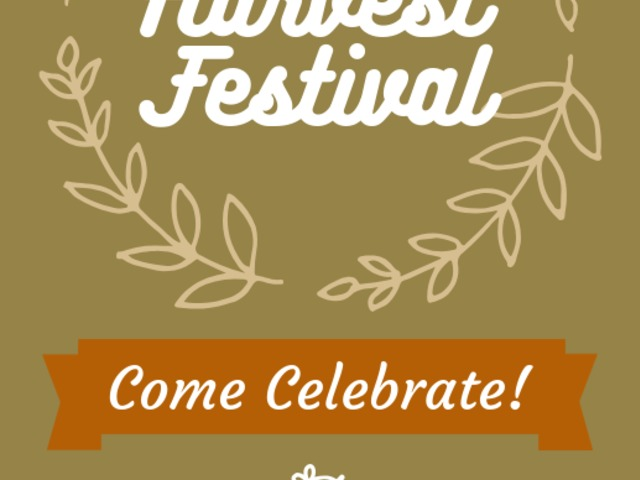 Placeit - Holiday Flyer Creator for a Harvest Festival
