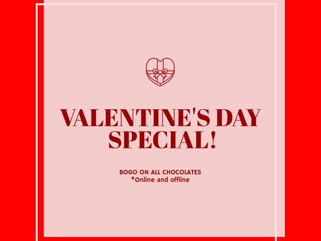 Placeit - Valentine\u0027s Day Coupon Design Template