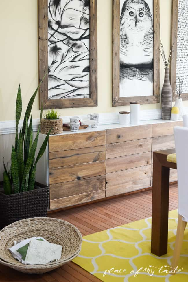 Buffet Or Sideboard Difference Ikea Hacks - Diy Reclaimed Wood Buffet