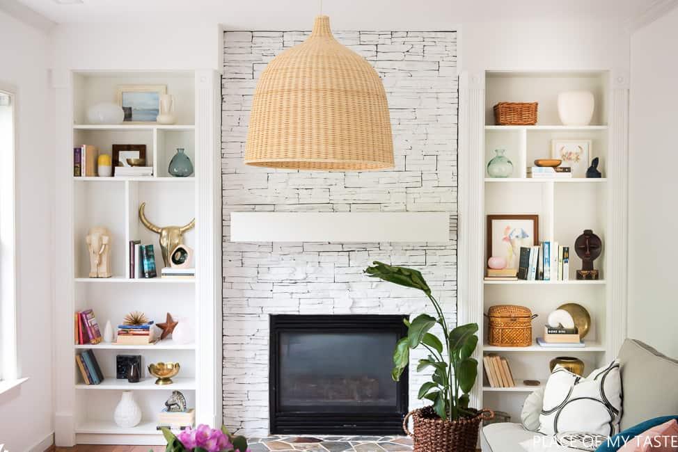 Bookcases Flanking Uncentered Fireplace Type Yvotubecom