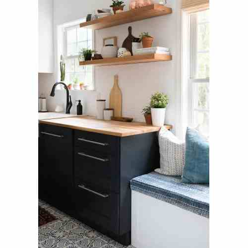Medium Crop Of Two Toned Kitchen Cabinets