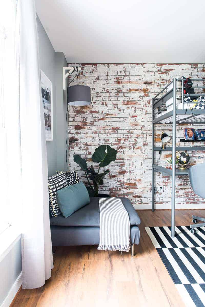 Faux Brick Interior Wall How To Install Faux Brick Paneling Place Of My Taste