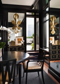 Black and Gold Home Decor- Places in the Home