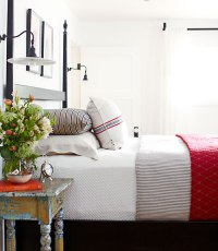 Patriotic Palette: Red, White and Blue Home Decor - Places ...
