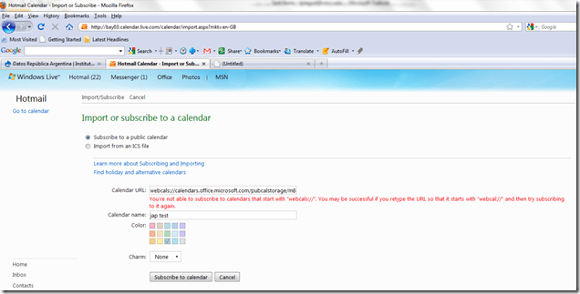 How To Set Up A Public Calendar In Outlook 2010 Calendar Meeting Not Showing Up Automatically As Tentative Lrc Website Thomas Work Space