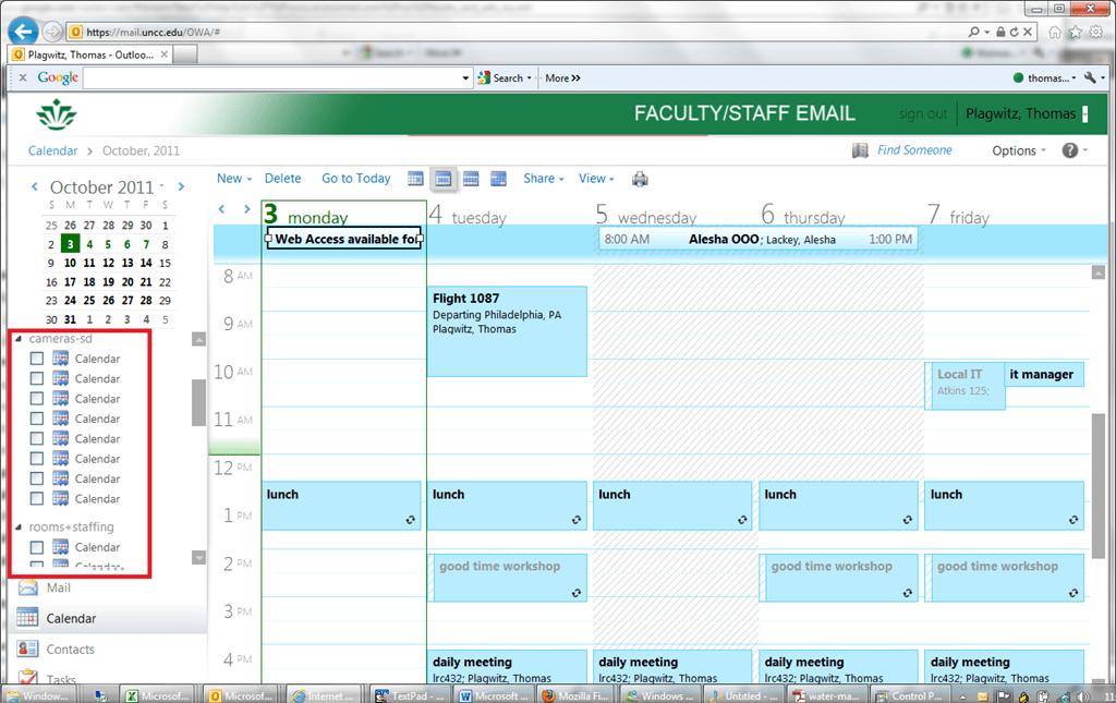 Google Calendar Not Loading Google Reader Google Lrc Outlookexchange 2010 Resource Calendaring How Lrc