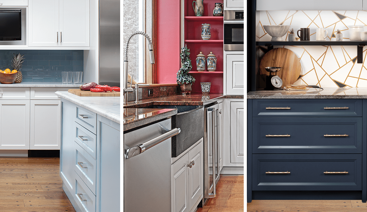 Kitchen Counter Cabinet Combinations Most Popular Kitchen Cabinet Colors In 2019 Plain Fancy Cabinetry