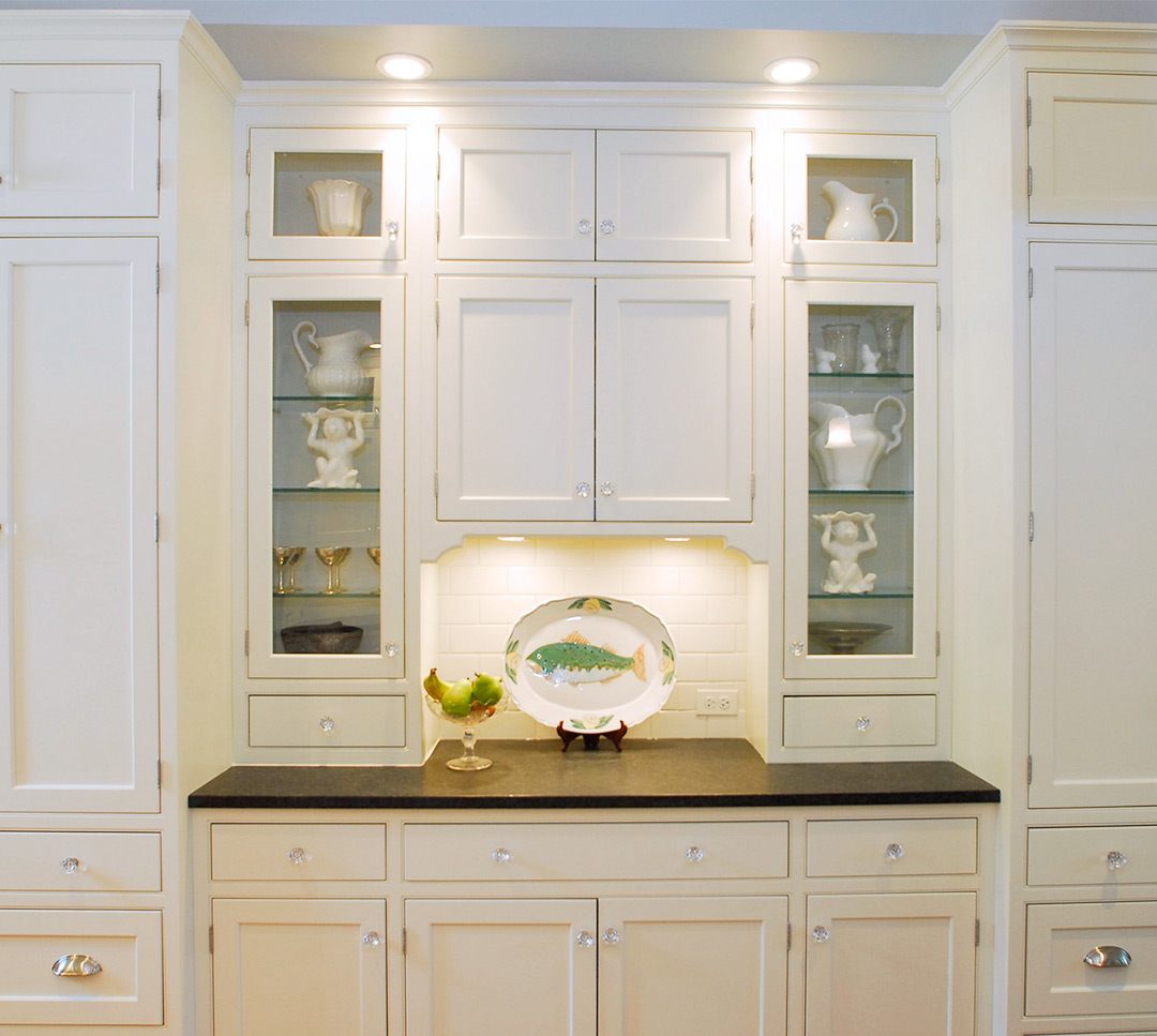 Kitchen Cabinets Glass Doors Custom Cabinetry Project Gallery Plain And Fancy Cabinetry