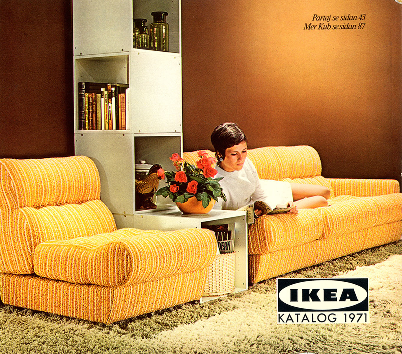 Ikea Möbel Tuning Fifty Years Of Ikea Catalogues Show The Evolution Of The Perfect