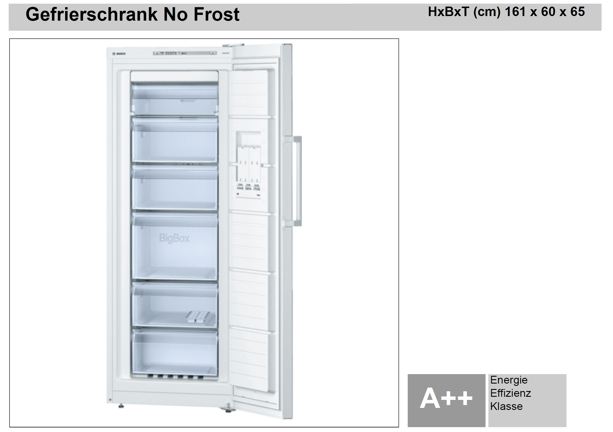 Gefrierschrank No Frost Bosch Gefrierschrank No Frost Plan And Work Elektrotechnik