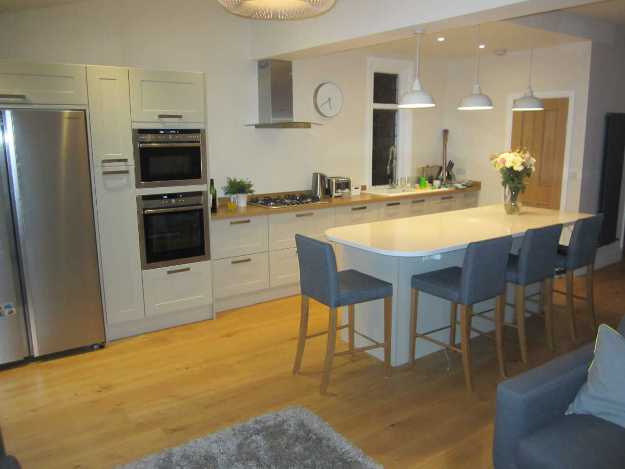 New Kitchen Island Cost Single Storey Rear Kitchen Extension