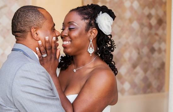 Penteado para noiva negra: trancinhas. Foto:Cendino Temé Photography.