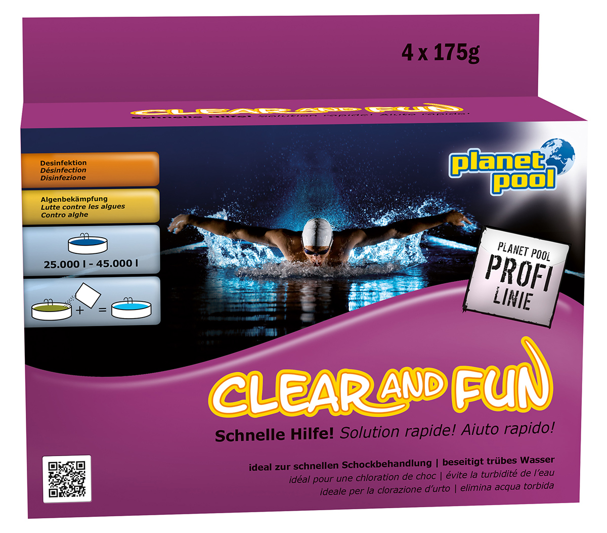 Pool Pflege Shop Planet Pool Clear And Fun Big Wasserpflegeset