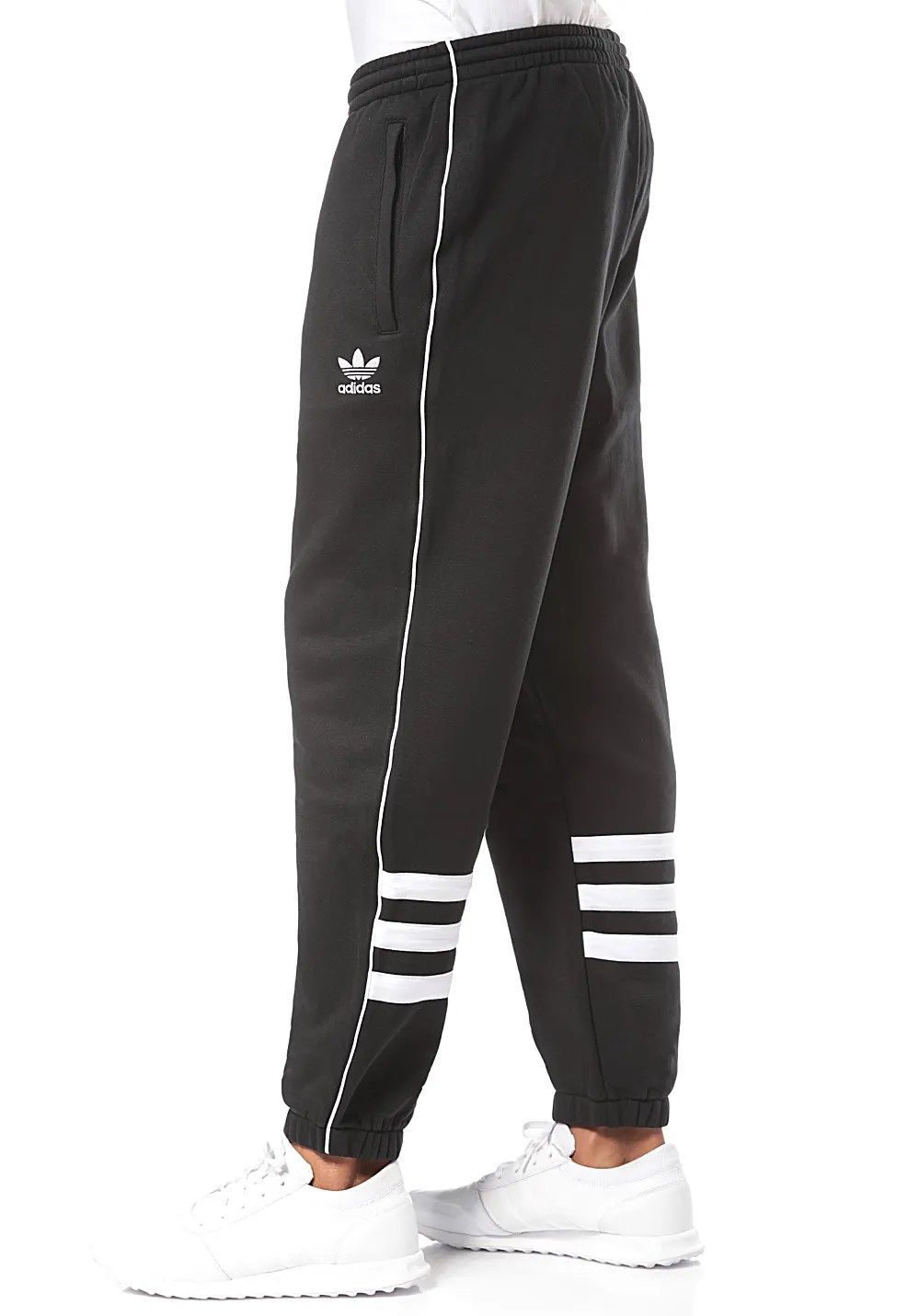 Adidas Jogginghose Schwarz Herren Adidas Originals Authentic Trainingshose Für Herren Schwarz