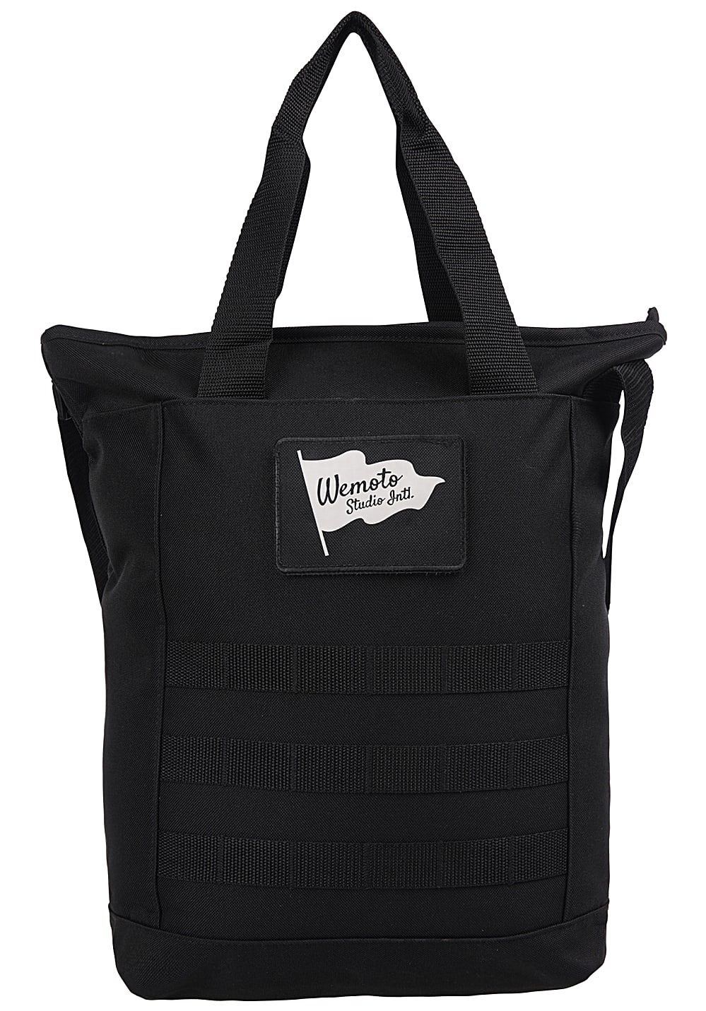 Wemoto Flag Studio Bag Tasche Schwarz Planet Sports