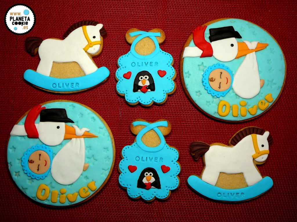 Galletas Para Bebes De 7 Meses Planeta Cookie Galletas Decoradas Personalizadas Sevilla