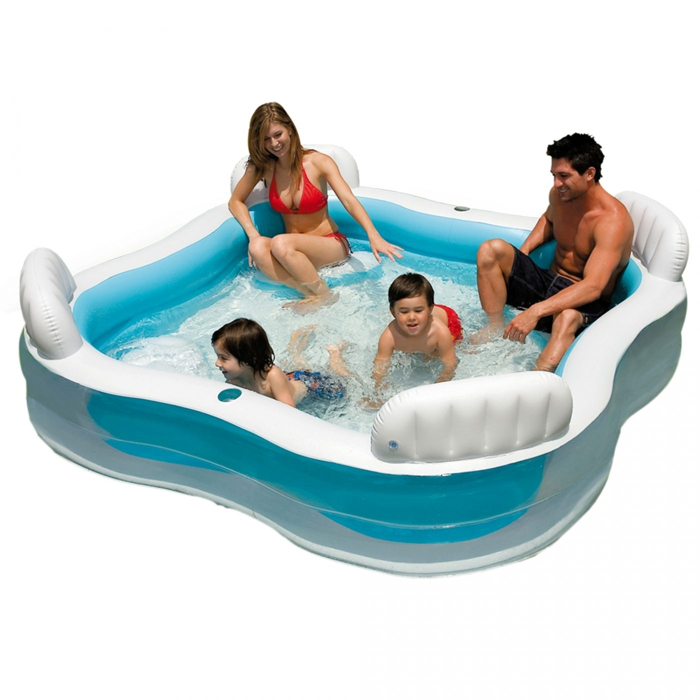Piscina Intex Infantil Piscina Con Asientos Y Respaldos Intex Por 36 95 En