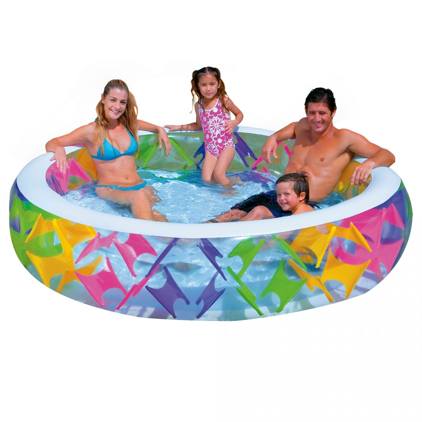 Piscina Intex Infantil Piscina Colores 229 X 56 Cm Intex En Planeta Huerto