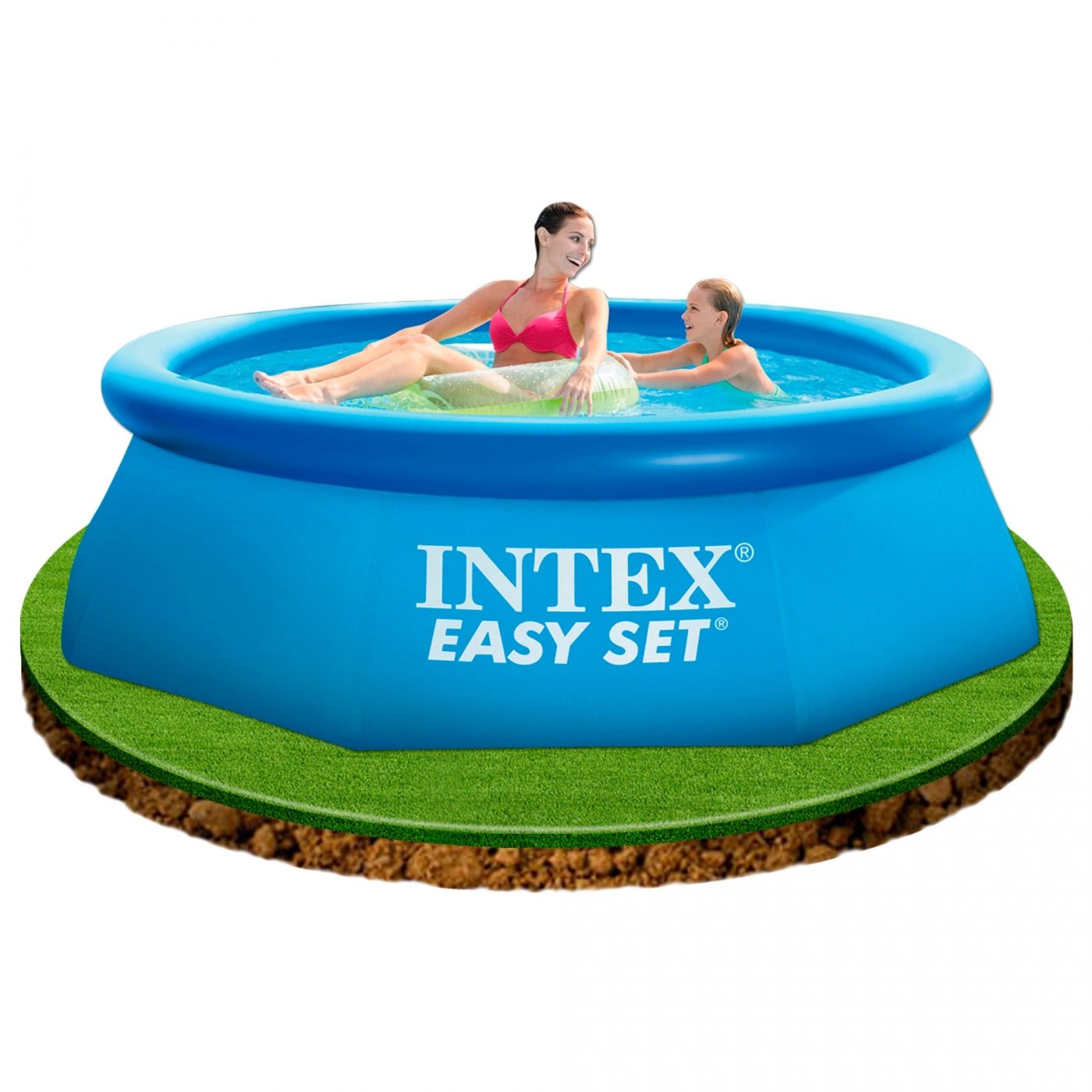 Intex Piscinas Acessorios Piscina Hexagonal Easy Set 244 X 76 Cm Intex Em Planeta Huerto
