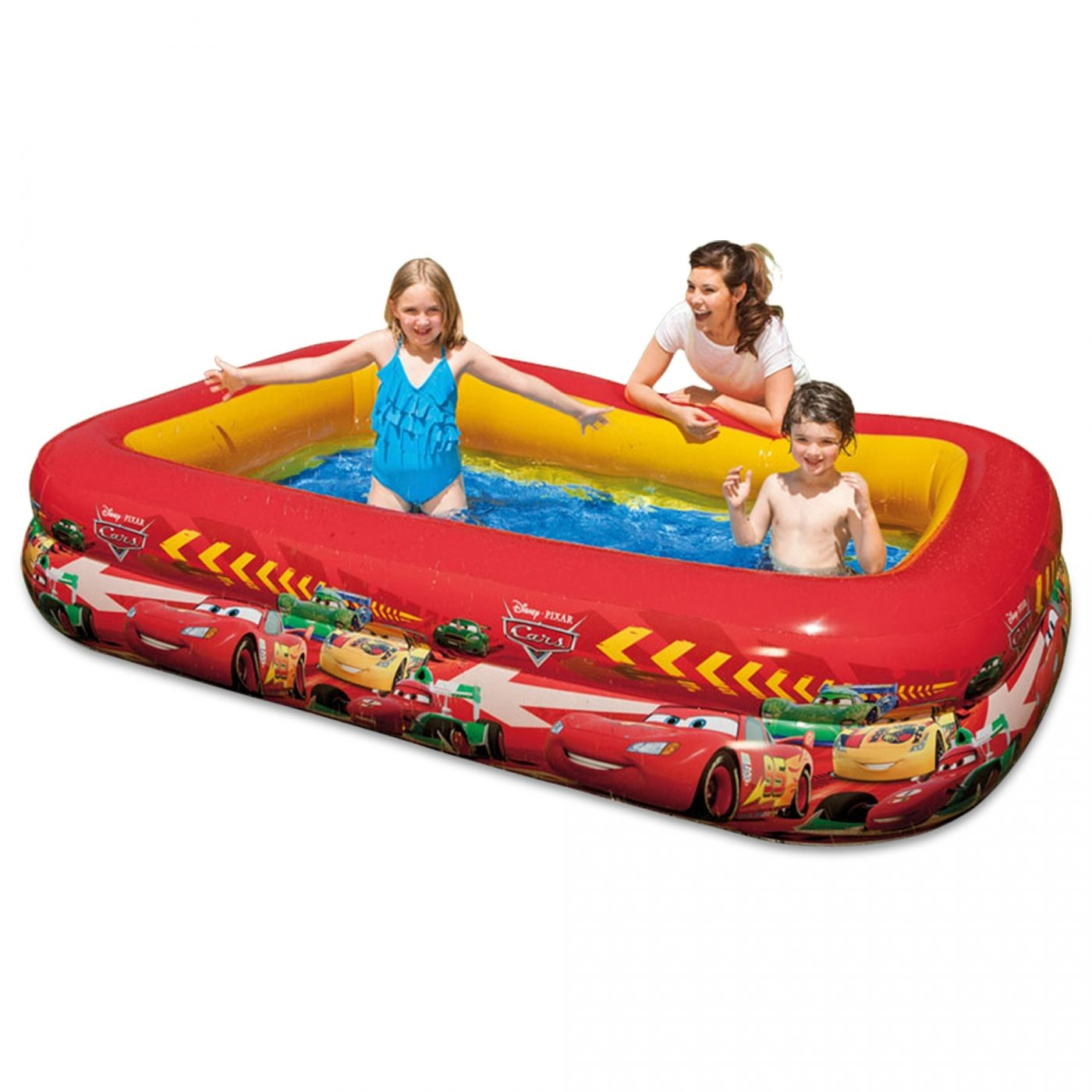 Piscina Intex Infantil Piscina Cars 262 X 175 X 56 Cm Intex En Planeta Huerto