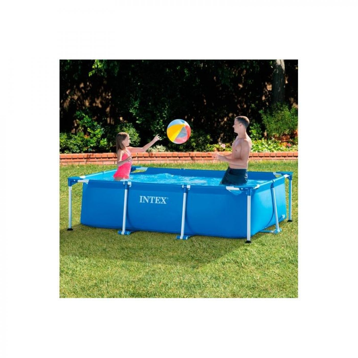 Piscinas Desmontables 2016 Piscina Small Frame 260 X 160 X 65 Cm Intex