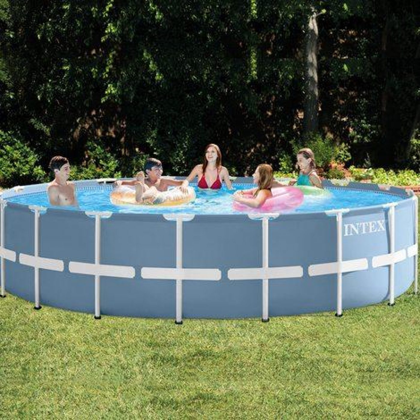 Piscina Intex 6000 Litros Medidas Piscina Desmontable Intex Prisma Frame 732x132 Cm 47