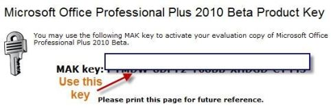 office 2010 product key