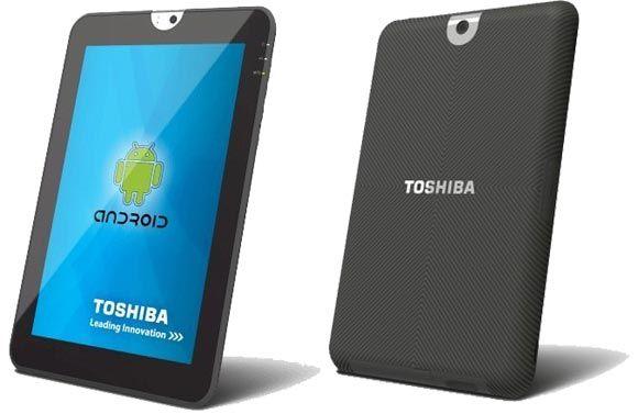 Tablet de Toshiba de 10.1 pulgadas y Android