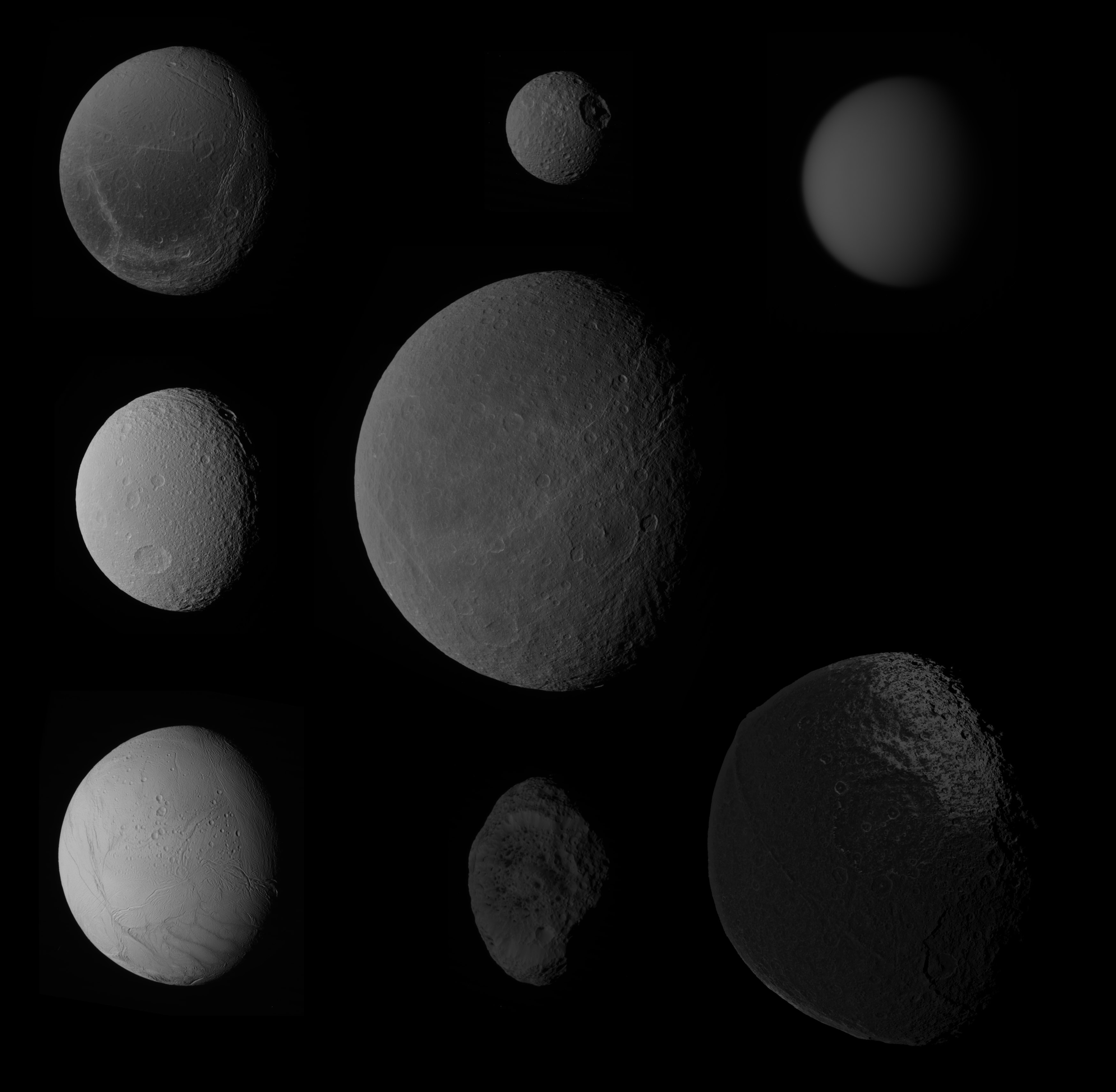 Mimas Moon Fun Facts Showing Off Saturn S Moons The Planetary Society