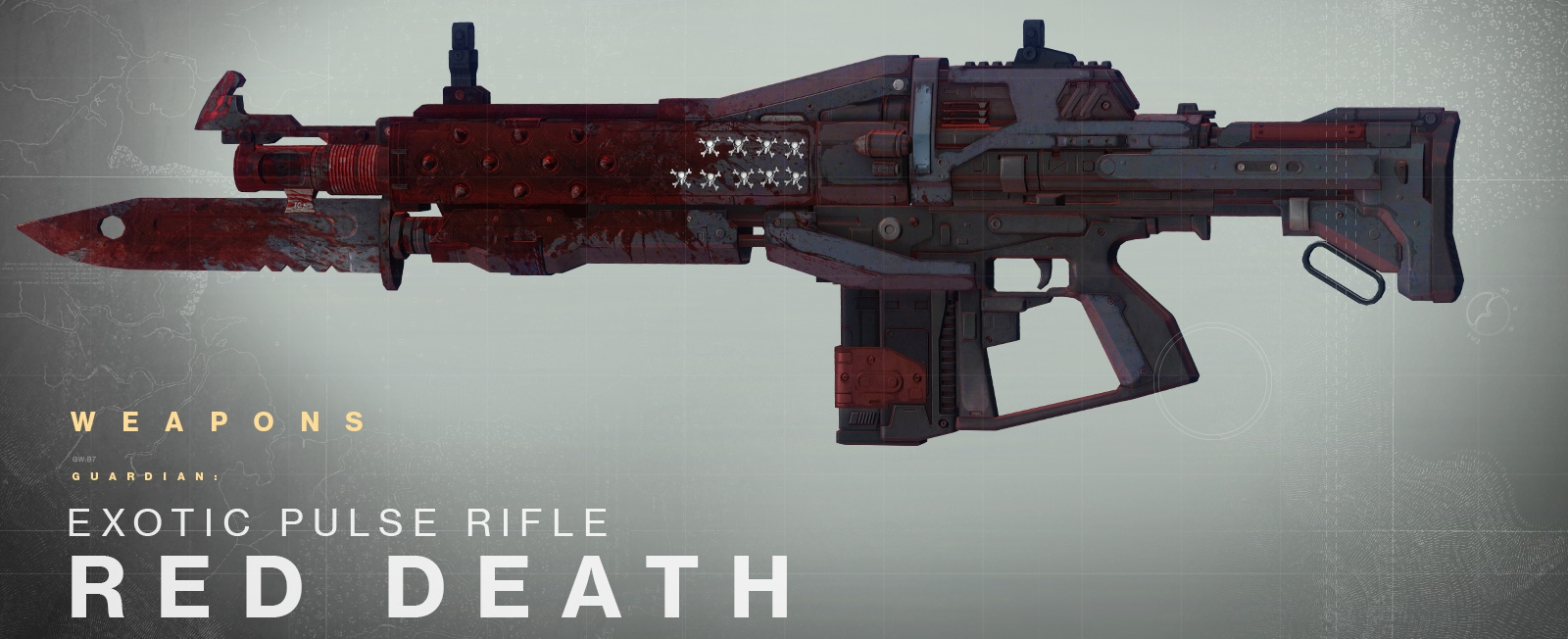 The red death perk is what really makes this weapon a threat after