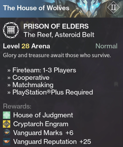 Prison of elders matchmaking level 32