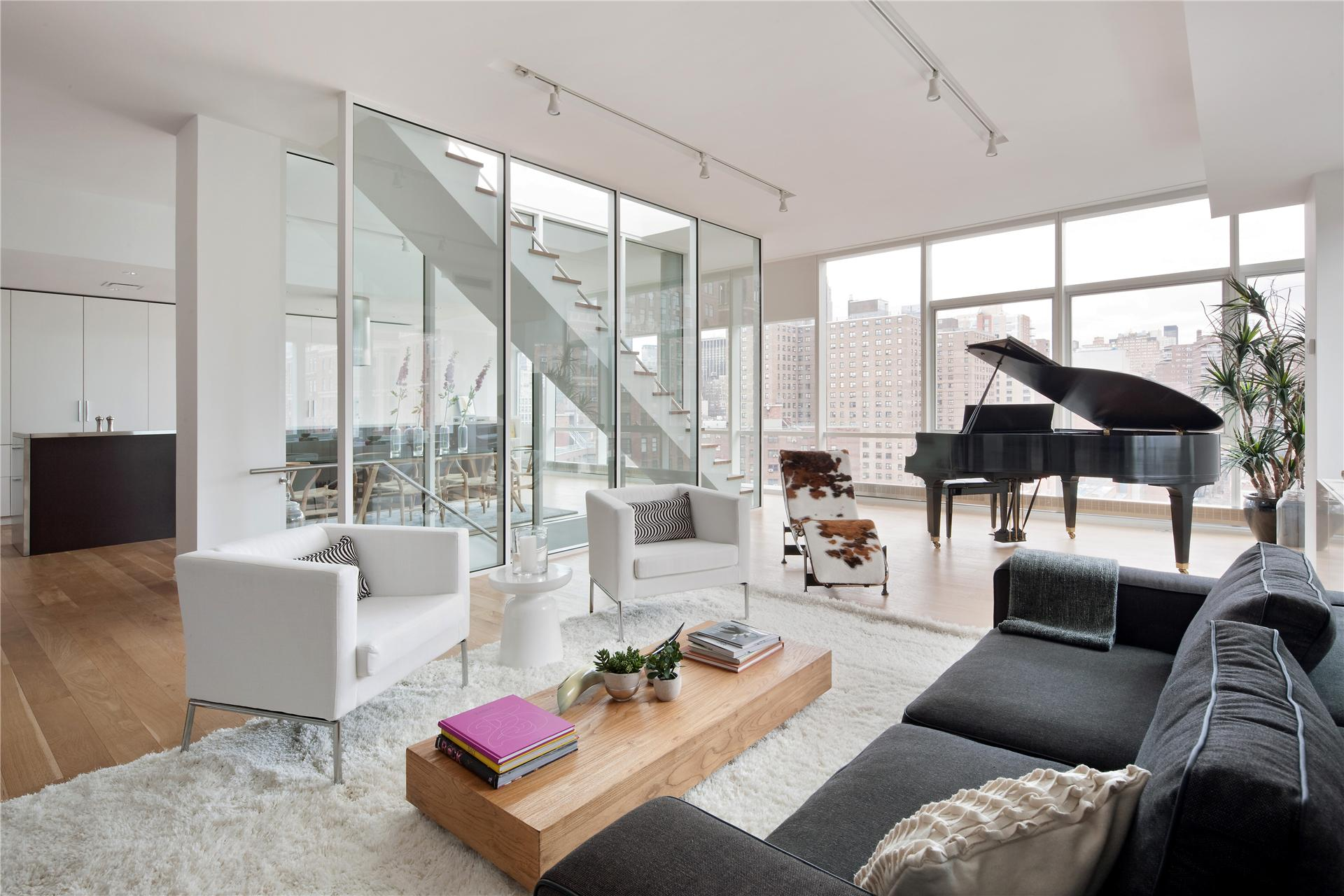 Architecte D'intérieur New York Un Duplex à New York Planete Deco A Homes World