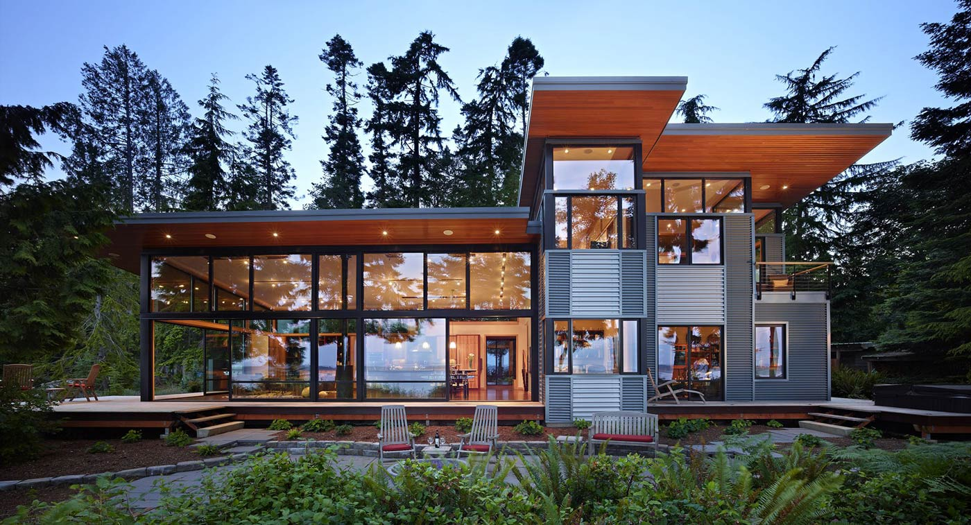 Green Living Metal Building Homes The Future Of Green Living